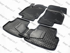 Fully Tailored Rubber / Set of 5 Car Floor Mats Carpet for VOLKSWAGEN GOLF 7 2015—2019