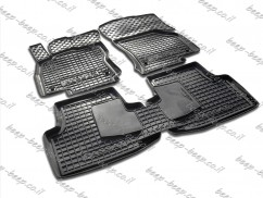 Car Floor Mats for VOLKSWAGEN PASSAT B8 2015—2018 Custom Fit All Weather Liners