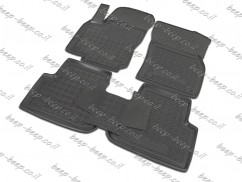 Car Floor Mats for VOLKSWAGEN TIGUAN II 2016—2020 Custom Fit All Weather Liners