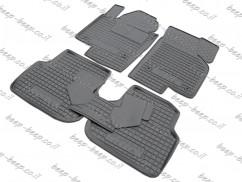 Fully Tailored Rubber / Set of 5 Car Floor Mats Carpet for VOLKSWAGEN JETTA VI 2011—2018