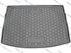 Fully Tailored Rubber / Cargo Mat Tray Trunk Boot Liner for VOLKSWAGEN GOLF 7 HATCHBACK 2015—2019