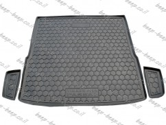 Cargo Trunk Mat for VOLKSWAGEN PASSAT B7 SPORTWAGEN 2010—2014 Custom Fit Tray Boot Liner