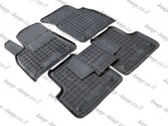 Fully Tailored Rubber / Set of 5 Car Floor Mats Carpet for AUDI Q8 I 2018—2019