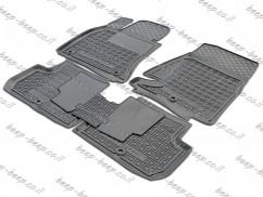 Fully Tailored Rubber / Set of 5 Car Floor Mats Carpet for KIA STINGER I 2018—2020