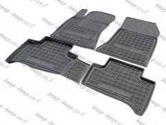 Fully Tailored Rubber / Set Car Floor Mats Carpet for MERCEDES B-CLASS, ELECTRIC DRIVE W246 2014—2018