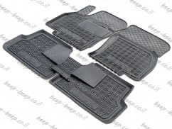 Fully Tailored Rubber / Set of 5 Car Floor Mats Carpet for SEAT IBIZA V 2017—2020