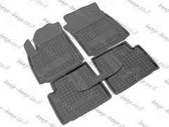 Fully Tailored Rubber / Set of 5 Car Floor Mats Carpet for FIAT 500 2008—2019 TWIN FIX