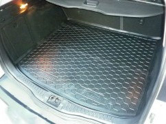 Cargo Trunk Mat for FORD FOCUS ESTATE III 2012—2017 Custom Fit Tray Boot Liner