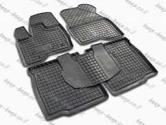 Fully Tailored Rubber / Set of 5 Car Floor Mats Carpet for FORD EXPLORER (U502) 2011—2019