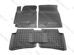 Car Floor Mats for HYUNDAI ACCENT V 2017—2020 Custom Fit All Weather Liners