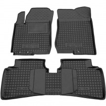 Car Floor Mats for HYUNDAI ELANTRA HD 2006—2010 Custom Fit All Weather Liners