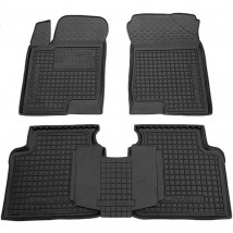 Car Floor Mats for HYUNDAI SONATA NF 2004—2010 Custom Fit All Weather Liners