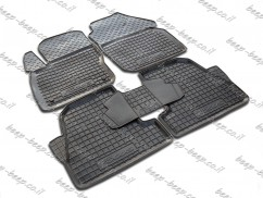 Car Floor Mats for FORD FOCUS III 2012—2017 Custom Fit All Weather Liners