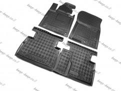 Car Floor Mats for HYUNDAI SANTA FE IV 2018—2020 Custom Fit All Weather Liners