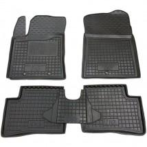 Car Floor Mats for HYUNDAI i10 II 2014—2019 Custom Fit All Weather Liners