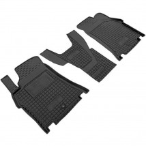 Car Floor Mats for HYUNDAI H-1 (1+1) II 2008—2020 Custom Fit All Weather Liners