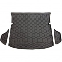 Cargo Trunk Mat for MAZDA CX-7 I 2006—2012 Custom Fit Tray Boot Liner