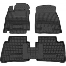 Car Floor Mats for NISSAN TIIDA (VERSA) I 2004—2011 Custom Fit All Weather Liners