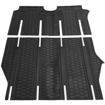 Car Floor Mats for MERCEDES VITO, VIANO (REAR) W639 2003—2014 Custom Fit All Weather Liners