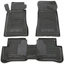 Car Floor Mats for MERCEDES C-CLASS W203 2000—2007 Custom Fit All Weather Liners