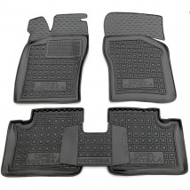 Car Floor Mats for OPEL VECTRA A 1988—1995 Custom Fit All Weather Liners