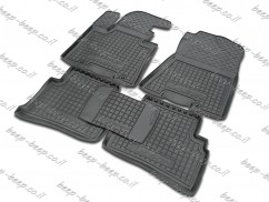 Fully Tailored Rubber / Set of 5 Car Floor Mats Carpet for HYUNDAI TUCSON 2016—2019