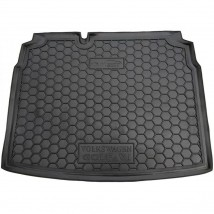 Cargo Trunk Mat for VOLKSWAGEN GOLF 6 HATCHBACK 2008—2012 Custom Fit Tray Boot Liner