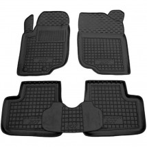 Car Floor Mats for PEUGEOT 207 2006—2013 Custom Fit All Weather Liners