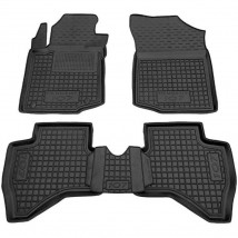 Car Floor Mats for PEUGEOT 107 2005—2014 Custom Fit All Weather Liners