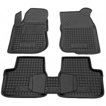 Car Floor Mats for PEUGEOT 208 I 2012—2018 Custom Fit All Weather Liners