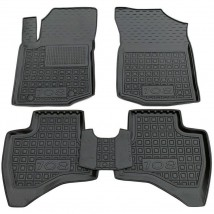 Car Floor Mats for PEUGEOT 108 2014—2020 Custom Fit All Weather Liners