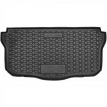 Cargo Trunk Mat for PEUGEOT 108 2014—2020 Custom Fit Tray Boot Liner