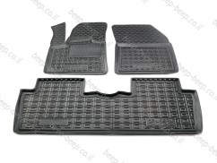 Car Floor Mats for PEUGEOT 5008 II 2017—2021 Custom Fit All Weather Liners