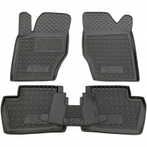 Car Floor Mats for PEUGEOT 307 2001—2008 Custom Fit All Weather Liners