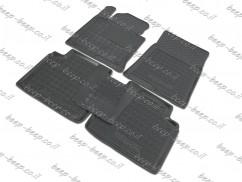 Fully Tailored Rubber / Set of 5 Car Floor Mats Carpet for HYUNDAI SONATA LF 2015—2018