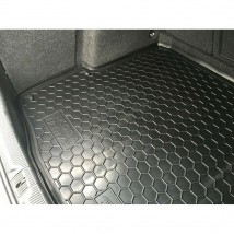 Cargo Trunk Mat for SKODA OCTAVIA II WAGON 2005—2012 Custom Fit Tray Boot Liner