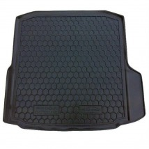 Cargo Trunk Mat for SKODA OCTAVIA III LIFTBACK (WITHOUT AMPLIFIER BOX) 2013—2019 Custom Fit Tray Boot Liner