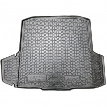 Cargo Trunk Mat for SKODA OCTAVIA III WAGON (WITHOUT AMPLIFIER BOX) 2013—2019 Custom Fit Tray Boot Liner