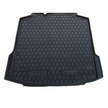 Cargo Trunk Mat for SKODA RAPID I LIFTBACK 2012—2020 Custom Fit Tray Boot Liner