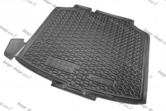 Cargo Trunk Mat for SKODA SCALA I 2019—2021 Custom Fit Tray Boot Liner