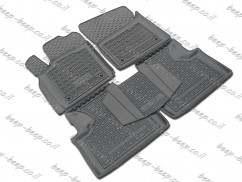 Fully Tailored Rubber / Set of 5 Car Floor Mats Carpet for JEEP GRAND CHEROKEE IV 2013—2018