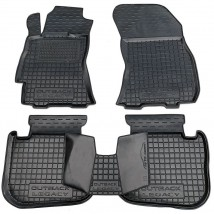 AV-G Car Floor Mats for SUBARU LEGACY V 2010—2014 Custom Fit All Weather Liners
