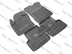 Fully Tailored Rubber / Set of 5 Car Floor Mats Carpet for JEEP RENEGADE 2015—2020