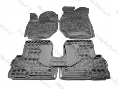 Car Floor Mats for SUZUKI JIMNY IV 2019—2021 Custom Fit All Weather Liners