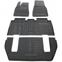 Car Floor Mats for TESLA MODEL X 2016—2020 Custom Fit All Weather Liners