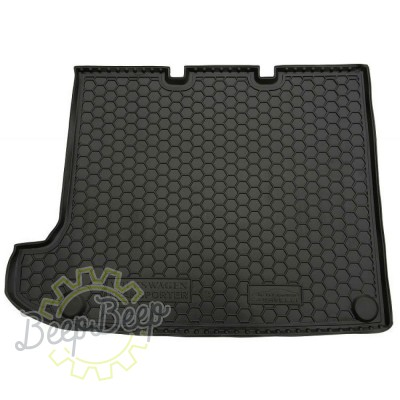 AV-G Cargo Trunk Mat for VOLKSWAGEN T5 (CARAVELLE, LONG, WITHOUT STOVE) 2003—2015 Custom Fit Tray Boot Liner - Picture 1