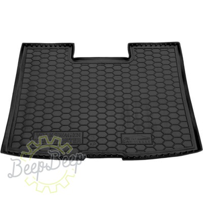 AV-G Cargo Trunk Mat for VOLKSWAGEN T5 (CARAVELLE, SHORT, WITH STOVE) 2003—2015 Custom Fit Tray Boot Liner - Picture 1