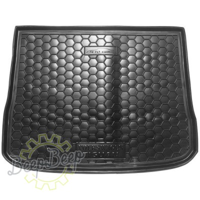 AV-G Cargo Trunk Mat for VOLKSWAGEN TIGUAN I 2007—2015 Custom Fit Tray Boot Liner - Picture 1
