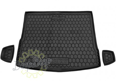 AV-G Cargo Trunk Mat for VOLKSWAGEN TIGUAN II 2016—2020 Custom Fit Tray Boot Liner - Picture 1