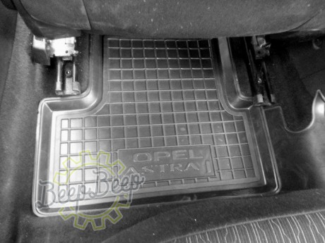 AV-G Car Floor Mats for OPEL ASTRA J 2010—2015 Custom Fit All Weather Liners - Picture 5
